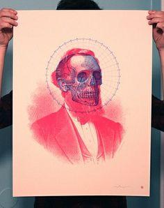 FFFFOUND! | Flickr Photo Download: Skullbeard Screen Print