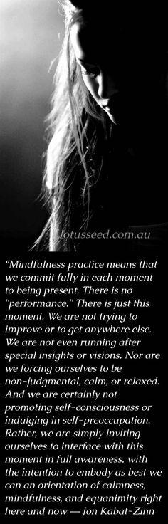 Jon Kabat Zinn ~ Buddhist Zen quotes by lotusseed.com.au