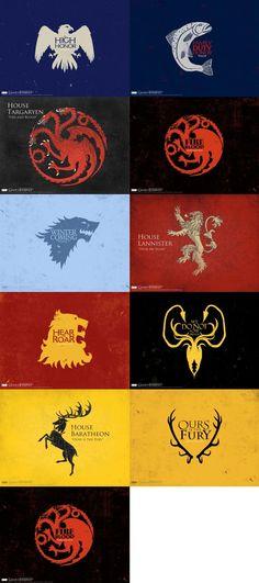 Game of Thrones blasons