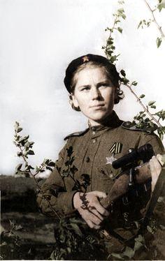 Roza Shanina - Soviet sniper 1944 WW2 | Flickr - Photo Sharing! Pin by Paolo Marzioli