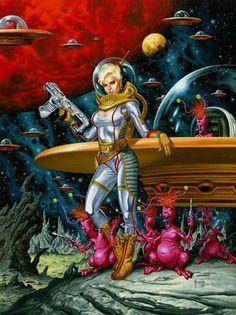 Sandy Stardust, by Joe Jusko.