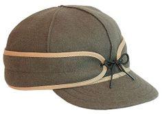 Amazon.com: Men's Stormy Kromer Original Wool Cap OLIVE Size 7 5/8: Clothing