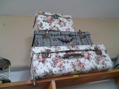 FUNKY SUITCASES loved for WEDDING DECOR www.heyjudesbarn.co.za