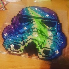Stormtrooper Star Wars perler beads by kandi_starz