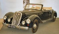 Citroën Traction Avant 15Six 1952 by Lagenthal (Carrosserie Langenthal AG, Schweiz) (on the background, photo engineer André Lefebvre)