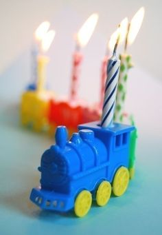 Circus Train Candle Holder by CupcakeSocial on Etsy