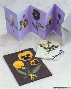 "See the ""Pressed Pansies"" in our Kids' Spring Crafts gallery"