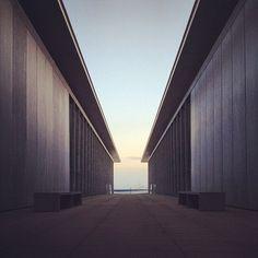 "@koichi1717's photo: "". . M . Hyogo Prefectural Museum of Art.  Kobe, Japan. architect: Tadao Ando . ."""