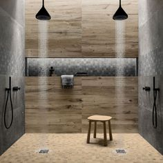 The porcelain stoneware collections for architects and designers Gold Wood, Stone Tiles, Rustic Chic, Porcelain Tile, Store Design, Stoneware, Bathtub, Sweet Home, Indoor