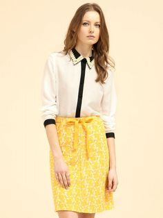 Daisy Collar Blouse