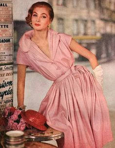 Hubert de Givenchy, 1954