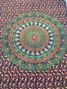Indian-Mandala-Twin-Tapestry-Hippie-Elephant-Wall-Hanging-bed-cover-throw-decor