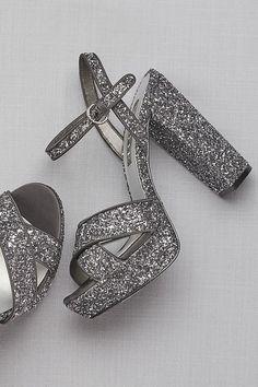 Crisscross Chunky Glitter Platform Heels Style Pewter, Source by davidsbridal Heels Shoe Boots, Ankle Boots, Shoes Heels, Stiletto Heels, Ankle Strap Heels, Homecoming Shoes, Glitter Fashion, Glitter Heels, Glitter Wine