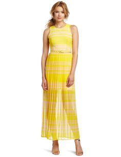 French Connection Women's London Rock Stripe Maxi Dress  where can i find dresses  http://wherecanifinddresses.com