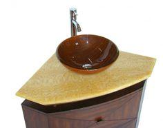 Bathroom Vanity Tops ~ http://lanewstalk.com/choosing-a-corner-bathroom-vanity/