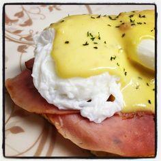 Dukan Diet - Tofu, Ham, & Eggs Benedict