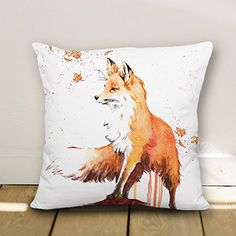 wendana Fox accent Pattern Throw Pillow Covers Decorative Cushion Covers Canvas Pillowcase 18 x 18 wendana http://www.amazon.com/dp/B0136BE4VU/ref=cm_sw_r_pi_dp_dn62wb05JEKNC