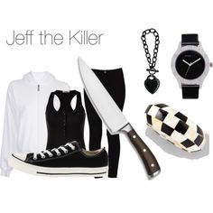 """Jeff the Killer (Creepypasta)"" by ai-satuo on Polyvore"