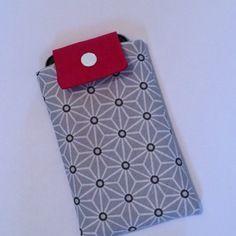 Housse pour smartphone de type iphone 6s rose et gris