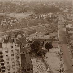 Viaduto Major Quedinho, 1954. São Paulo do Passado