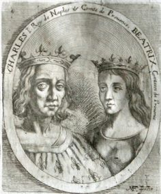 Beatrice of Provence was Countess of Provence and Forcalquier. She was also a Queen consort of Sicily by marriage to King Charles I of Sicily. Wikipedia Born: 1231 Died: September 23, 1267, Nocera Inferiore, Italy Spouse: Charles I of Naples (m. 1246) Parents: Ramon Berenguer IV, Count of Provence, Beatrice of Savoy Children: Charles II of Naples, Elizabeth of Sicily, Queen of Hungary, Beatrice of Sicily, Latin Empress Grandchildren: Robert, King of Naples, Louis of Toulouse