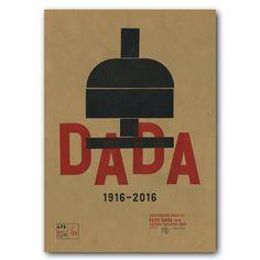 Dada. www.476.fr/shop/ #riso #graphicdesign #prints #dada #typo
