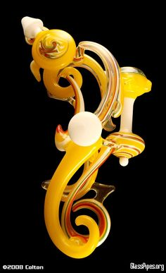 P1PELINE Glass Pipes, handblown,