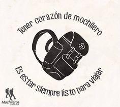 Corazón de mochilero. Encuentra más inspiración para tus escapadas en www.escapadarural.com