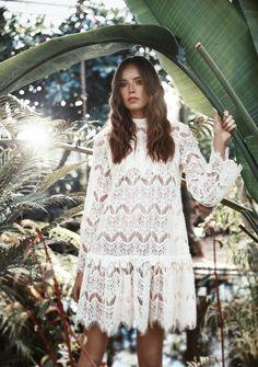 Lace dress (100% Cotton) - Zaquad
