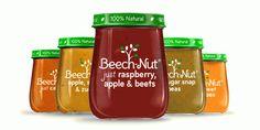 Honeypot jar gives new Beech-Nut baby food a homemade look #Label