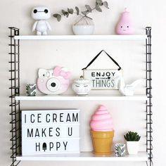 Sprinkles on a cupcake: disney pear light hello kitty sanrio instax quote lightbox ice cream home decor tomado