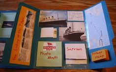 Today Jacob finished his Titanic lapbook. This boy of mine gets so excited about the Titanic, and he never minded working on his lapbook . Teaching Social Studies, Teaching History, Student Teaching, Titanic Art, Rms Titanic, Science Fair Projects, School Projects, Lap Books, Family News