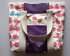 DIY tote with great step-by-step instruction