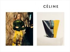 Frederikke Sofie and Ally Ertel for Celine Fall 2016 Campaign