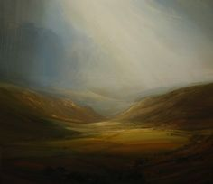 James Naughton (Lancashire, UK artist) ~ The Base of Things Abstract Landscape, Landscape Paintings, Landscapes, Muse Kunst, Painting & Drawing, Painting Styles, Muse Art, Traditional Landscape, Beautiful Paintings