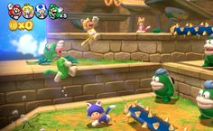 Mario World for the Wii U Mario Kart, Super Mario 3d, World Cat, Ps4 Or Xbox One, Video Games For Kids, Baby Games, Wii U, Luigi, Entertaining