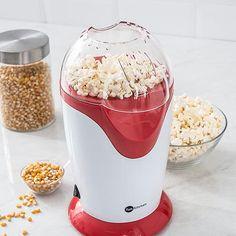 Pipoqueira Elétrica Branca com Vermelho Fun Kitchen - Com 2 Anos de Garantia1200w $160