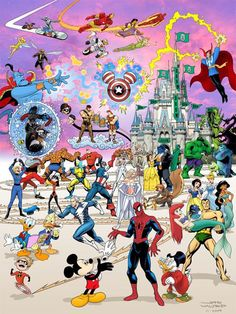 Disney/Superhero Mash up!