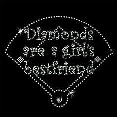 """Diamonds"" are a girls best friend <3 haha #Baseball #Softball you know ;)"