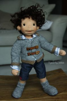 Waldorf doll boy Tymon 1575 inch40cm Waldorf by julilale