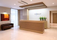 View the full picture gallery of Larger Lawyers Office In The Baltics- COBALT Law Office Design, Office Reception Design, Medical Office Design, Modern Office Design, Modern Offices, Reception Desks, Healthcare Design, Office Designs, Design Offices