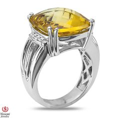 Ebay NissoniJewelry presents - .05CT Diamond Fashion Ring with Citrine in Sterling Silver 925  0.05CT    Model Number:FR8069A-SI77CIT    http://www.ebay.com/itm/.05CT-Diamond-Fashion-Ring-with-Citrine-in-Sterling-Silver-925-0.05CT/321612078489