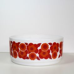 SALADIER LOTUS ARCOPAL ORANGE. I have this bowl.