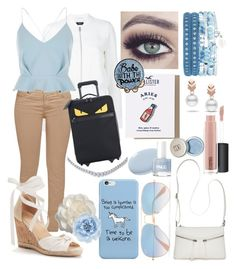 """""""The Babe With The Power"""" by ticci-taylor on Polyvore featuring Hollister Co., Theory, Barbour, Bueno, Cara, Ray-Ban, Monsoon, River Island, MAC Cosmetics and Escalier"""