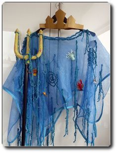 Little Aquarius - Fasching - Carnaval Last Minute Halloween Costumes, Group Halloween Costumes, Diy Costumes, Costume Carnaval, Carnival Costumes, Little Mermaid Costumes, The Little Mermaid, Sea Creature Costume, Under The Sea Costumes
