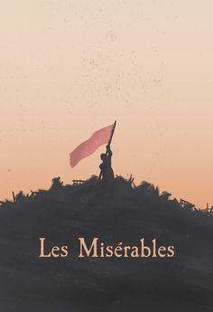 Les Misérables (2012) ~ Minimal Movie Poster by George Townley #amusementphile