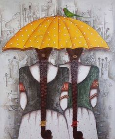 Modern Indian art painting