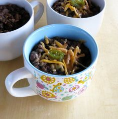 This pressure cooker chili is a one pot meal made with items you can find in any pantry. The black beans add depth and the lentils add a little spice - the mushrooms tie everything together into savory, satisfying dish.