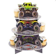 Monster Truck Party Supplies - birthdaydirect.com