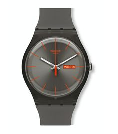 bd1abe553e7 Swatch Warm Rebel Watch SUOM702 - New Gent Collection See more SWATCH at:-  http